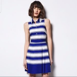 Milly by DesigNation sapphire combo cotton dress